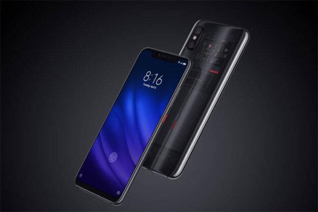 Xiaomi Mi 8 Pro trasparente offerta coupon