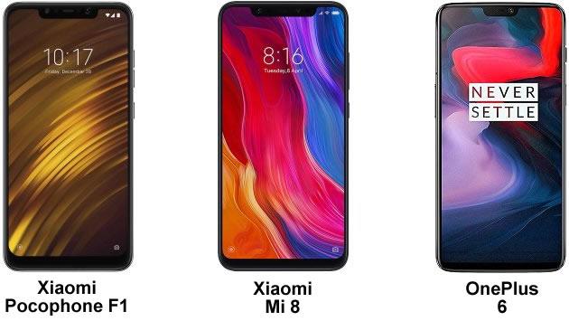 Xiaomi PocoPhone F1, Xiaomi Mi 8, Oneplus 6 prezzo minimo Gearbest Double 11.11