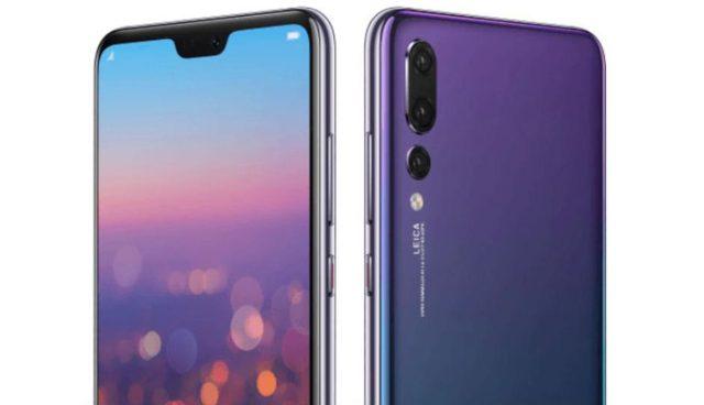 Huawei P20 Pro doppio aggiornamento novembre 2018