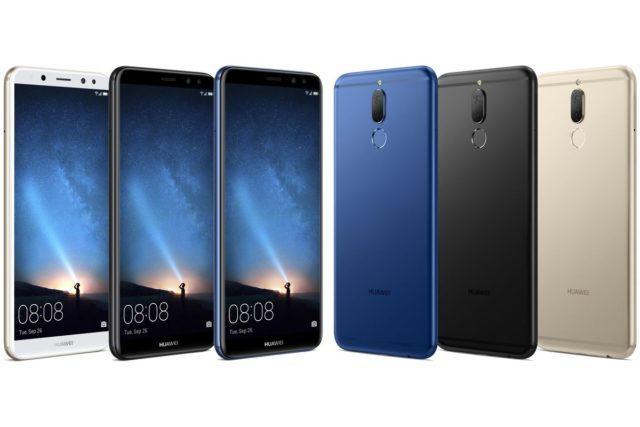 Huawei Mate 10 Lite aggiornamento firmware fine novembre 2018
