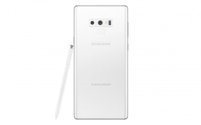 Galaxy Note 9 Pure White