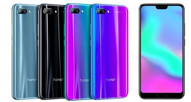Honor 10 aggiornamento