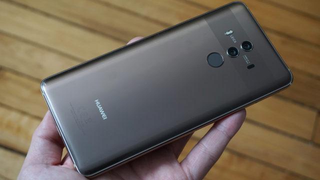 Huawei Mate 10 pro aggiornamento inizio novembre 2018