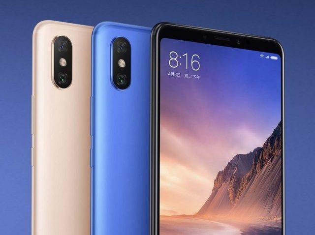 Xiaomi Mi Max 3 e Xiaomi Redmi Note 5