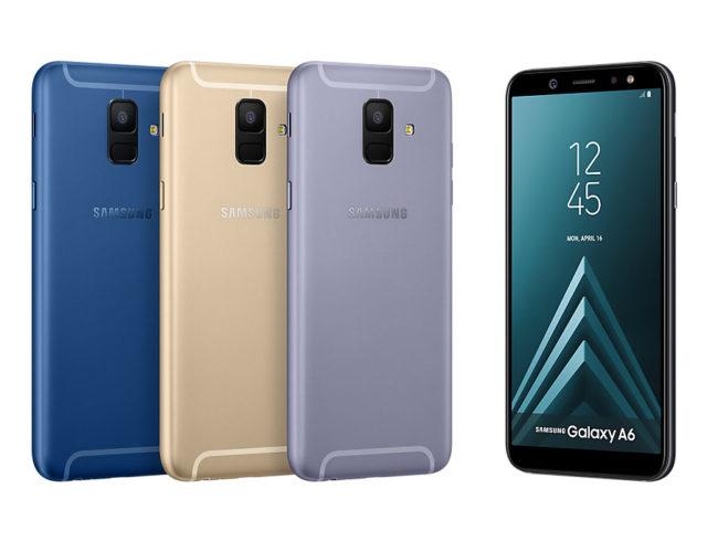 Galaxy A6 aggiornamento fine novembre 2018