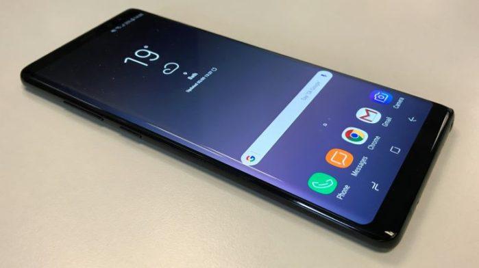 Galaxy Note 8 aggiornamento dicembre 2018