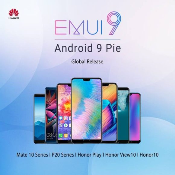 Android Pie Huawei P20, P20 Pro, Mate 10 e Honor stabile