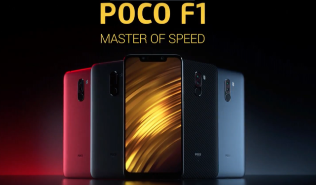 Xiaomi Pocophone F1 avrà video slow motion 960 pfs