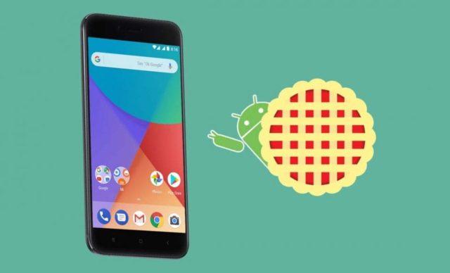 Xiaomi MI A1 aggiornamento Android Pie 9.0 iniziato