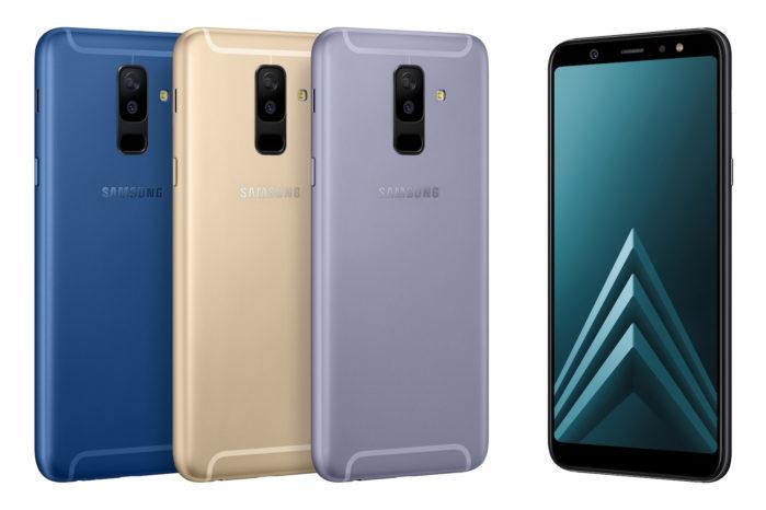 Galaxy A6 2018 ultimo aggiornamento 2018