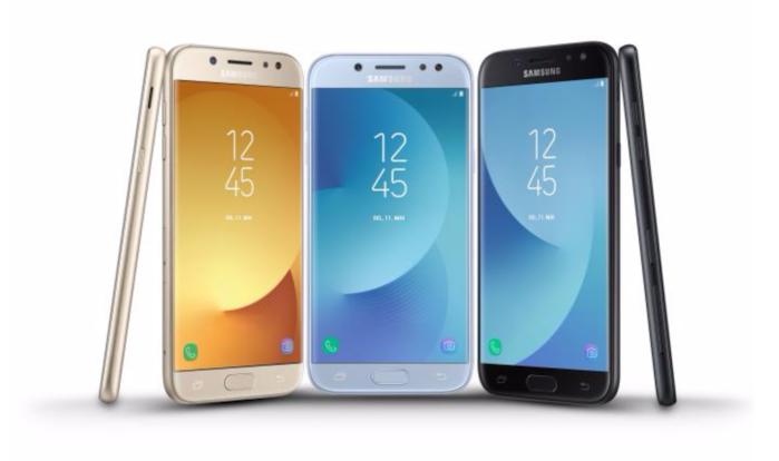 Galaxy J7 2017 e Galaxy J3 2017 ultimo aggiornamento 2018