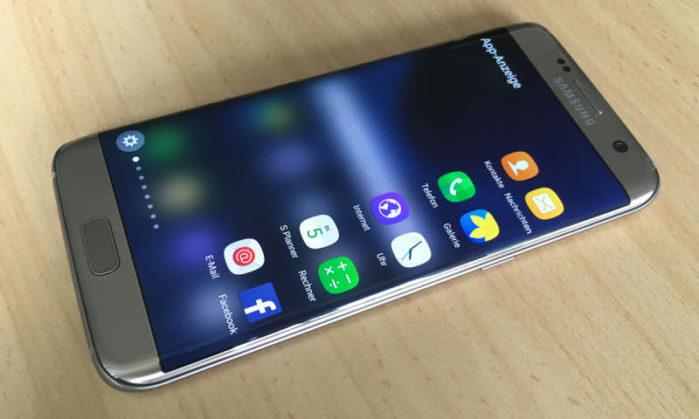 Galaxy S7 Edge Vodafone aggiornamento dicembre 2018