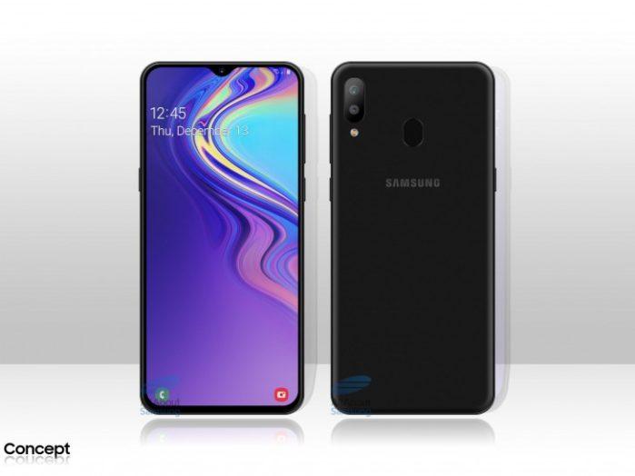 Samsung Galaxy M20 con batteria da 5000 mAh