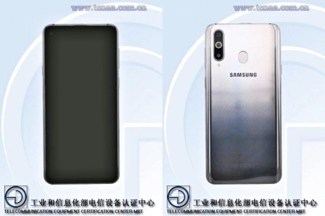 Samsung Galaxy A8S certificato da Tenaa