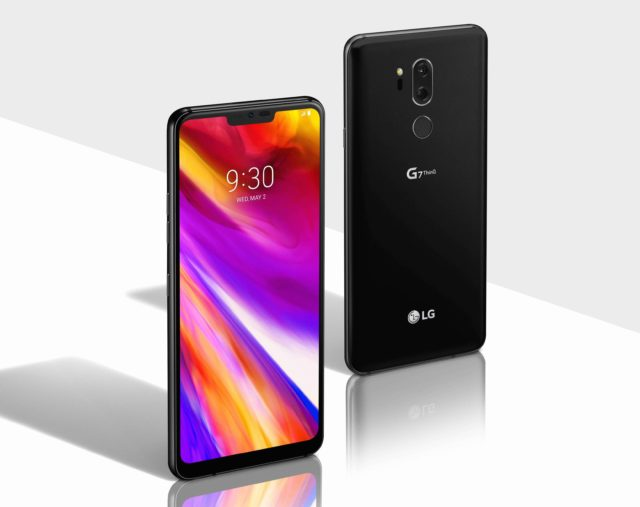 LG G7 ThinQ android Pie video demo