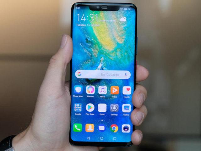 Huawei Mate 20 Pro aggiornamento inizio dicembre 2018