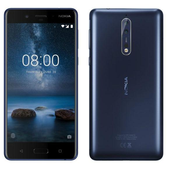 Nokia 8 aggiornamento Android Pie iniziato
