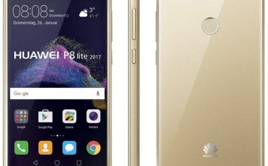 Huawei P8 Lite 2017 aggiornamento gennaio 2019
