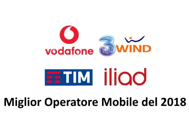 Miglior Operatore mobile 2018 per Altro Consumo: Vodafone vince