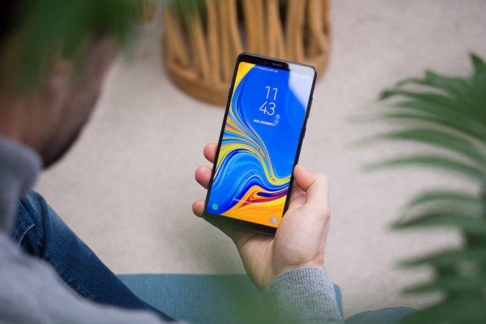Galaxy A7 2018, Galaxy A8 e A9 2018 Android Pie