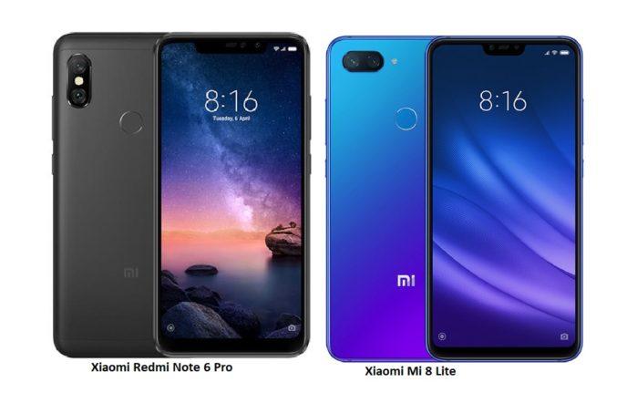Xiaomi Mi 8 lite e Xiaomi redmi note 6 pro offerta lampo spedizione da Europa