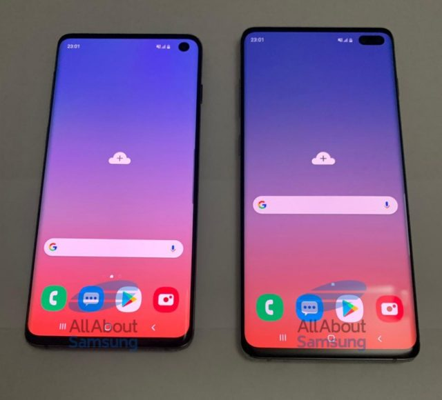 Galaxy S10 e S10 Plus immagini dal vivo