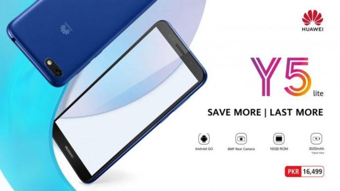 Huawei Y5 Lite ufficiale