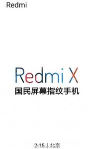 Xiaomi Redmi X data annuncio