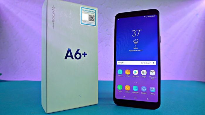 Galaxy A6 Plus aggiornamento Gennaio 2019