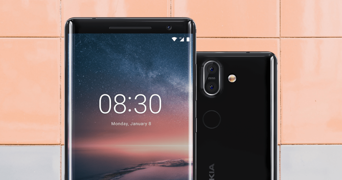 Nokia 8 Sirocco Android Pie