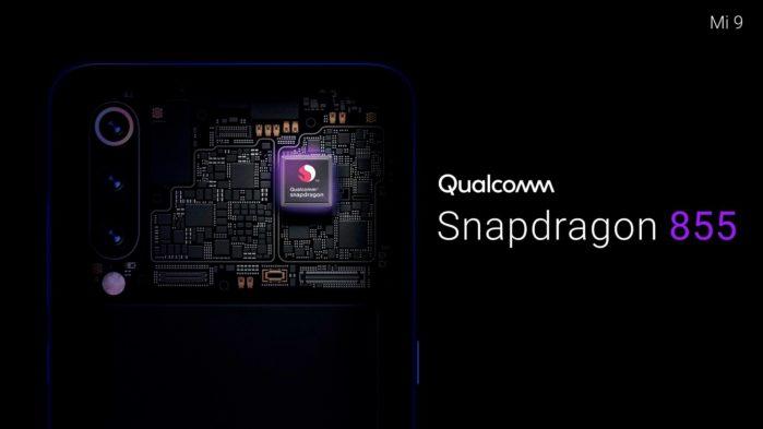 Xiaomi Mi 9 con Snapdragon 855