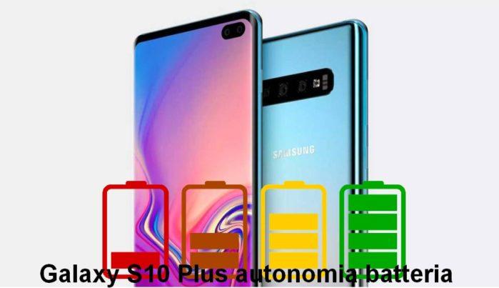 Samsung Galaxy S10 recensione autonomia batteria