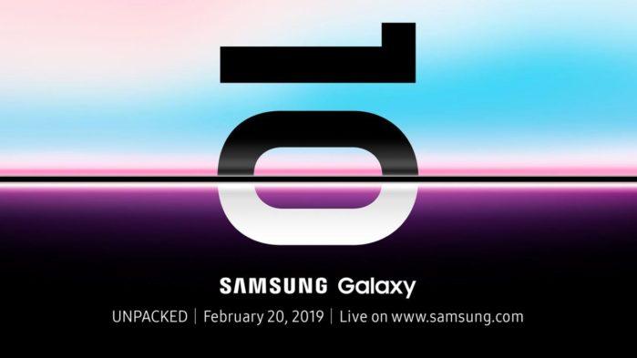Galaxy S10 colorazione Red e Blu immagini render