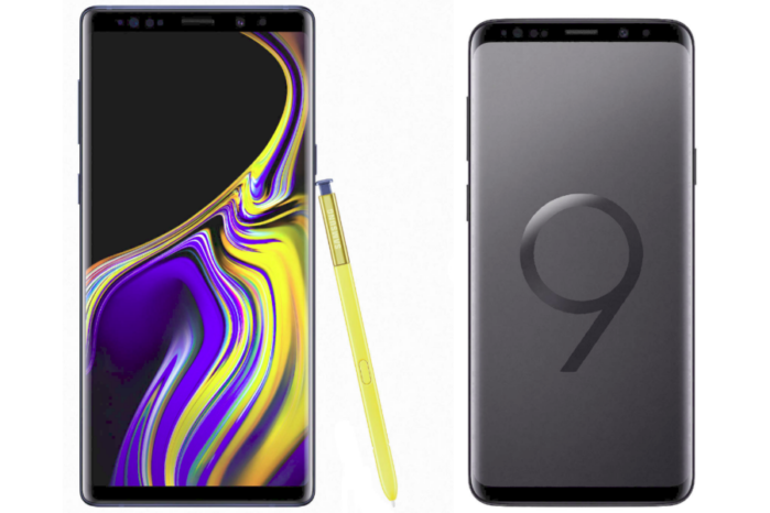 Galaxy S9 e Galaxy Note 9 Android Pie