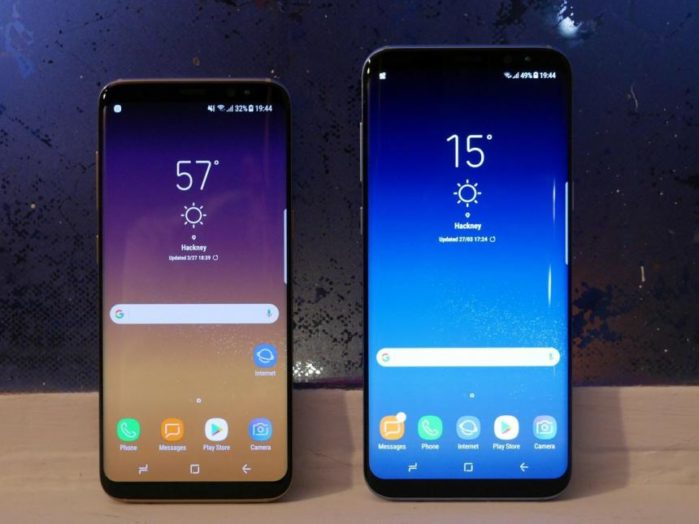 Galaxy S8 e S8 Plus aggiornamento metà febbraio 2019