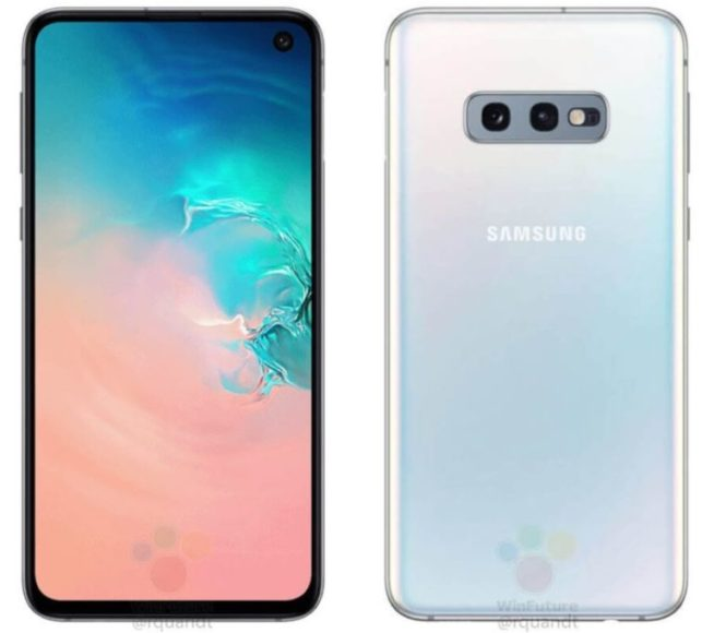 Galaxy S10E (Lite) immagini render