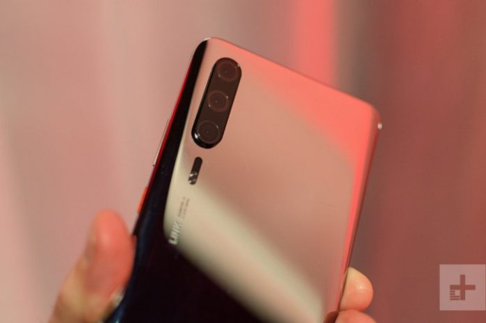Huawei P30 Pro prototipo mostrato dal vivo in un hands-on