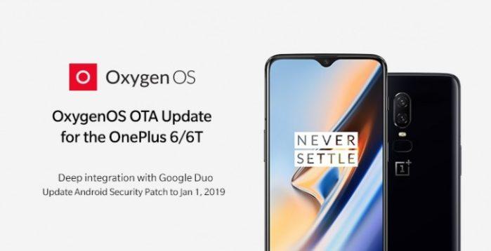 a663cc8ddc5a OxygenOS per OnePlus 6 e 6T si aggiornano a febbraio 2019  le novità