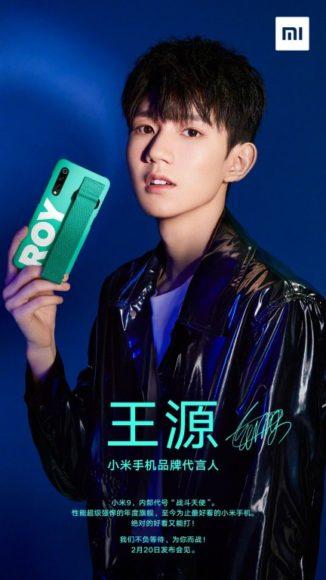 Xiaomi Mi 9 immagini dal vivo e render