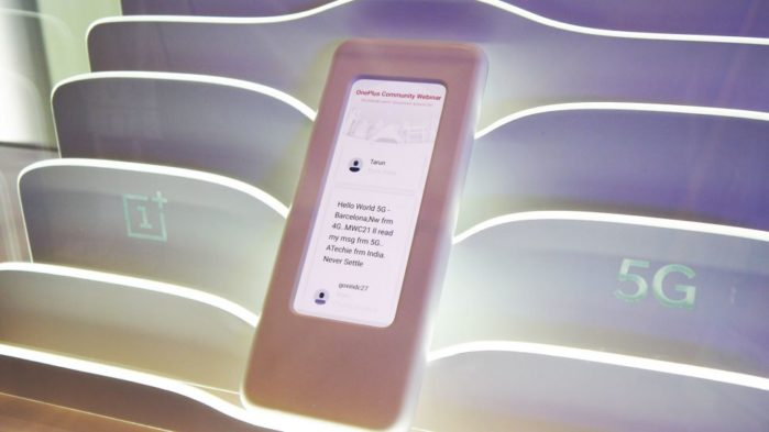 OnePlus 5G al MWC 2019