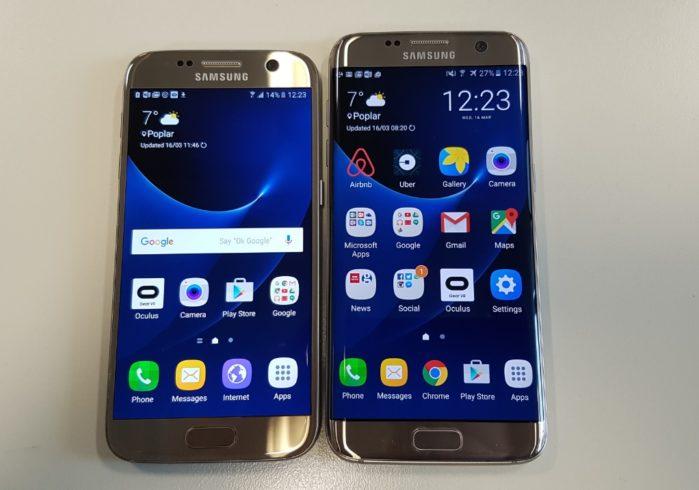 Galaxy S7 e S7 Edge aggiornamento febbraio 2019