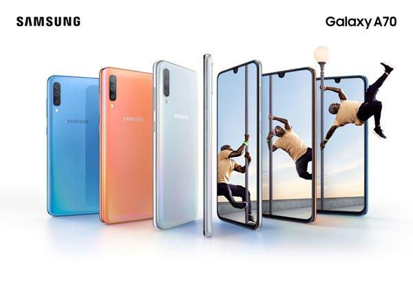 Samsung Galaxy A70 ufficiale