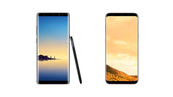 Galaxy S8, S8 Plus e Galaxy Note 8 Vodafone Android Pie 9.0