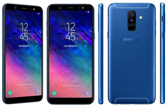 Galaxy A6 Plus aggiornamento Android Pie 9.0 Italia