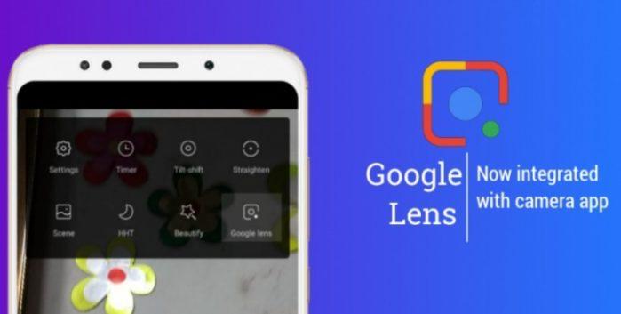 Google Lens integrata nell'App camera Xiaomi