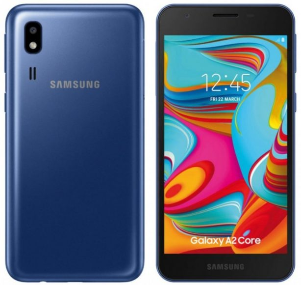 Samsung Galaxy A2 core: rumors Android Go