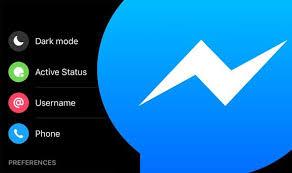 E' possibile attivare la dark mode su Facebook Messenger inviando una semplice emoji, basta recarsi in una qualsiasi finestra di chat ed inviare l'emoji della luna nella nuova versione, come riportato dall'immagine di seguito.