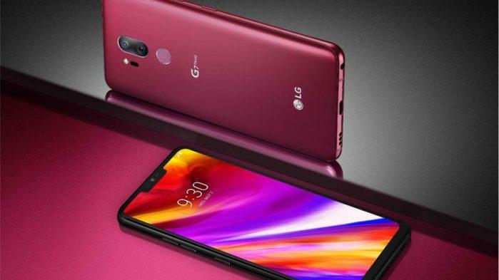 LG G7 ThinQ aggiornamento metà marzo 2019