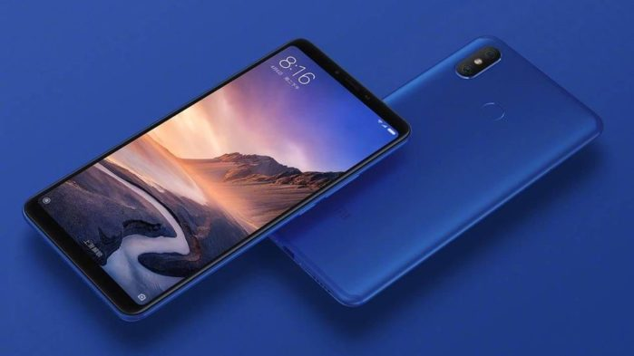 Xiaomi Mi Max 3 Android Pie 9 globale