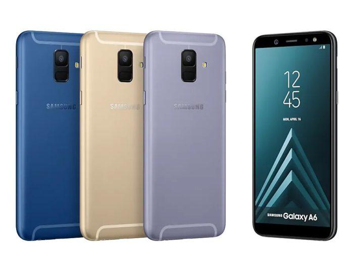 Galaxy A6 aggiornamento firmware aprile 2019